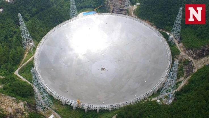 Worlds biggest radio telescope detects two pulsars during trial run