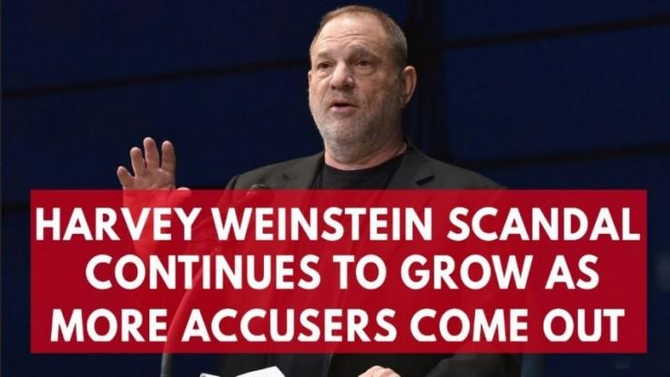 Gwyneth Paltrow, Angelina Jolie and Rosanna Arquette accuse Harvey Weinstein of sexual harassment as scandal grows
