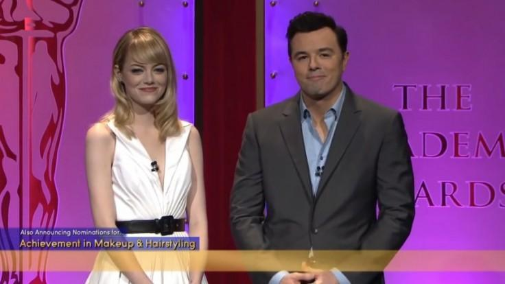 Watch Seth MacFarlanes joke about Harvey Weinstein from the 2013 Oscars announcements