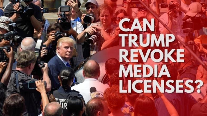 Can Donald Trump really revoke NBCs media licence?