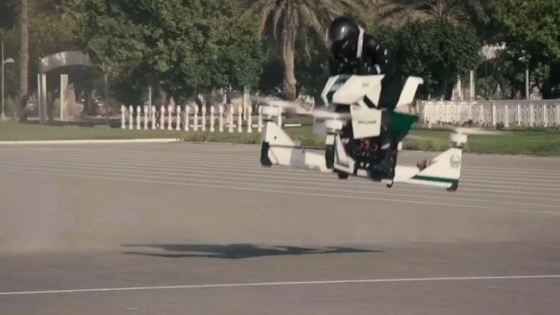 Dubai police to patrol skies on flying motorbikes