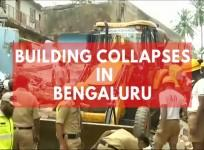 Building collapses in Bengaluru