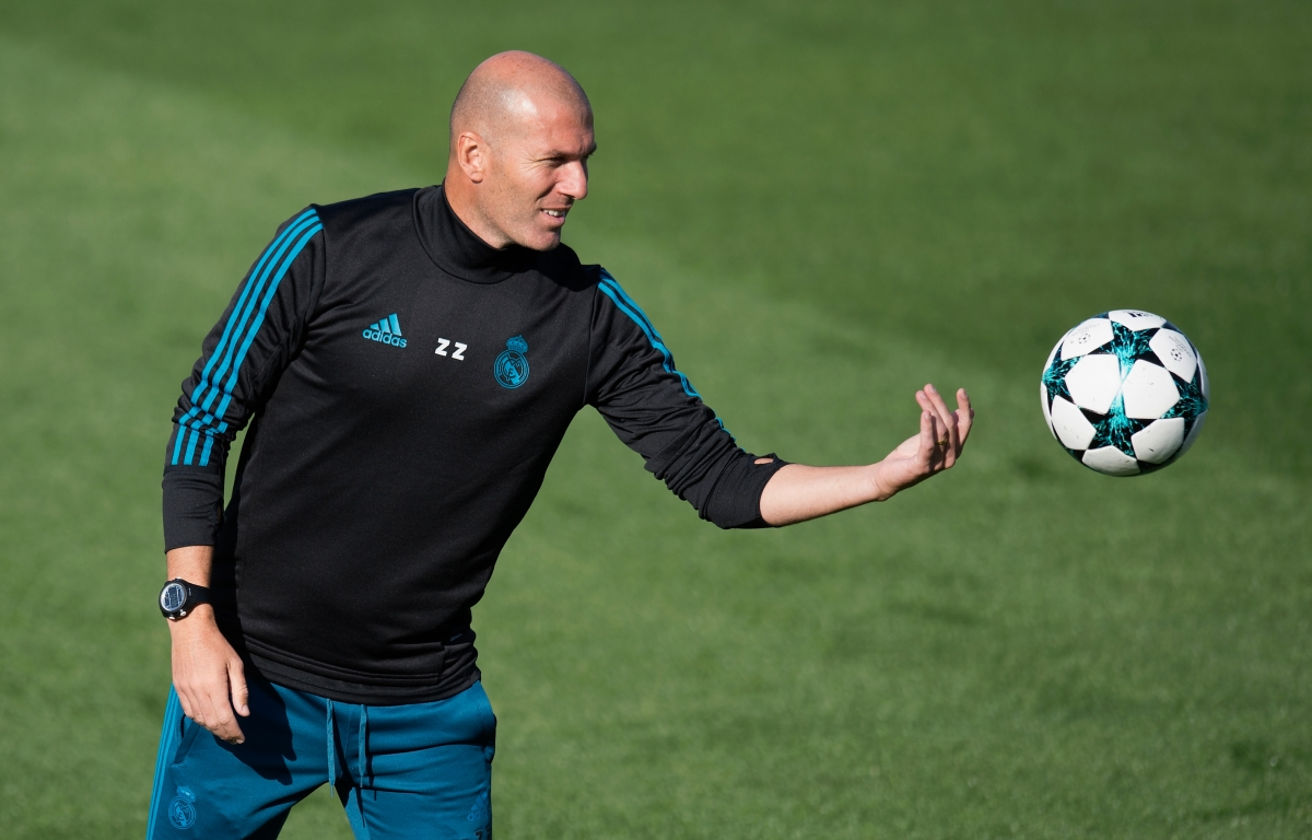 zinedine zidane trainer