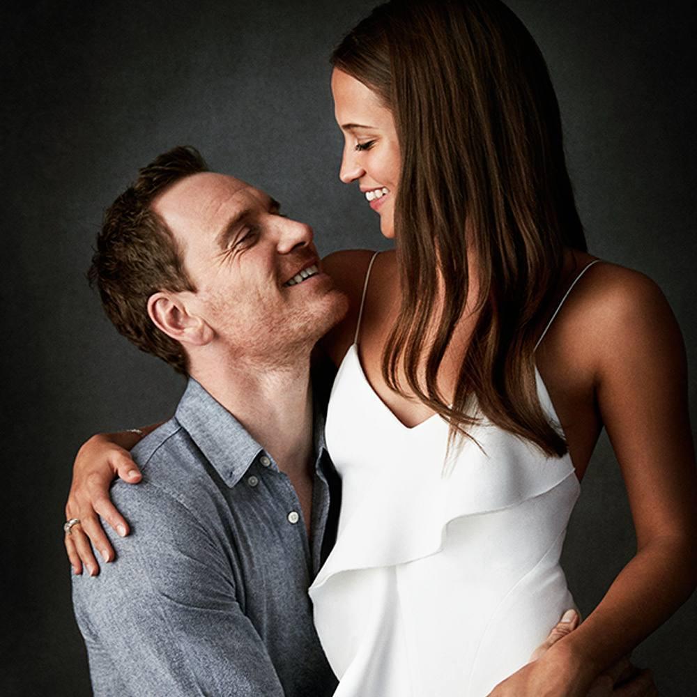 Michael Fassbender and Alicia Vikander Honeymoon in Italy ...  |Alicia Vikander Michael Fassbender