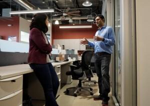 Jaya Jaware at the company's headquarters in Mountain View, California, U.S. April 21, 2017. [Representational Image]