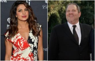 Priyanka Chopra, Harvey Weinstein