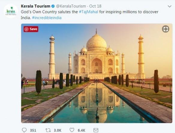 When Kerala saluted TajMahal