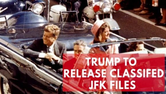 Trump to release thousands of classified documents on JFK assassination
