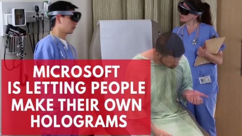 Microsofts mixed reality capture studios let people make their own holograms