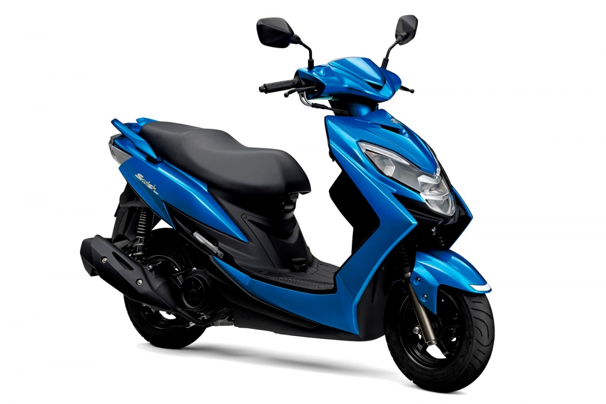 New Suzuki Swish Scooter Unveiled India Launch Likely In