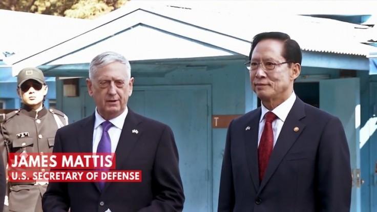 Defense Secretary Mattis at Korean DMZ: Our goal is not war