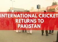 Sri Lanka returns to Pakistan for historic cricket match