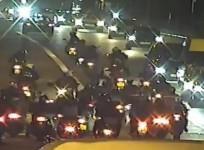Ride out causes mayhem on Halloween weekend in London