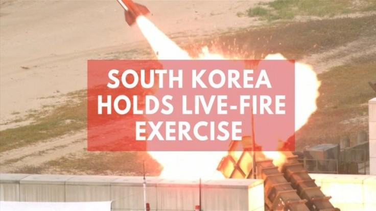 South Korea conducts anti-aircraft guided missiles drill ahead of Trumps visit