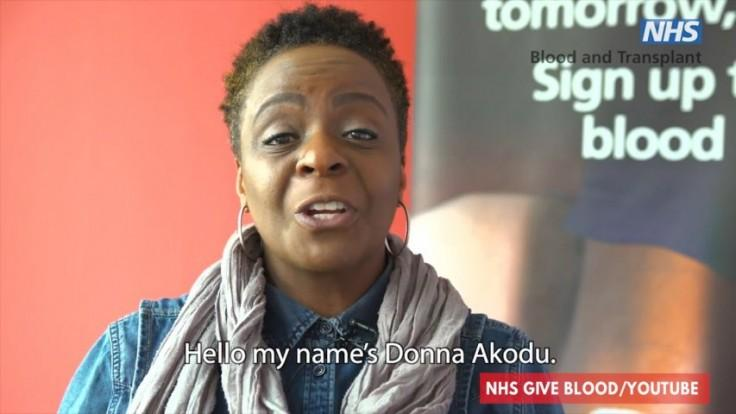 The NHS are looking for more black blood donors