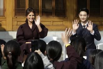 Melania Trump Choi Min-ho