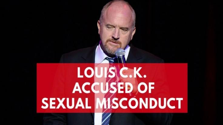 US comedian Louis CK accused of sexual misconduct by 5 women