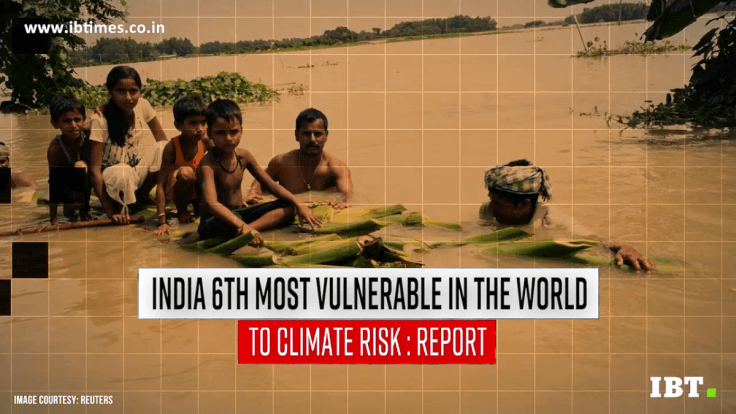 India sixth most vulnerable in the world to climate risk
