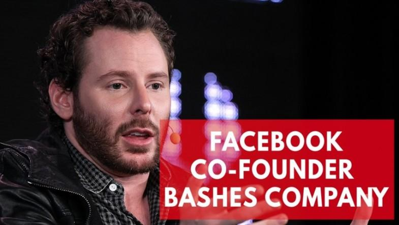 Facebook exploits human weakness, says co-founder Sean Parker
