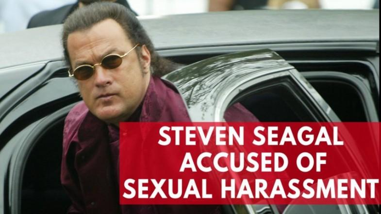 List of alleged sexual harassers in Hollywood grows as Steven Seagal is accused by Portia De Rossi