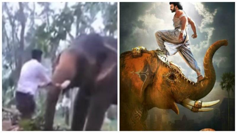 Baahubali 2 stunt went wrong