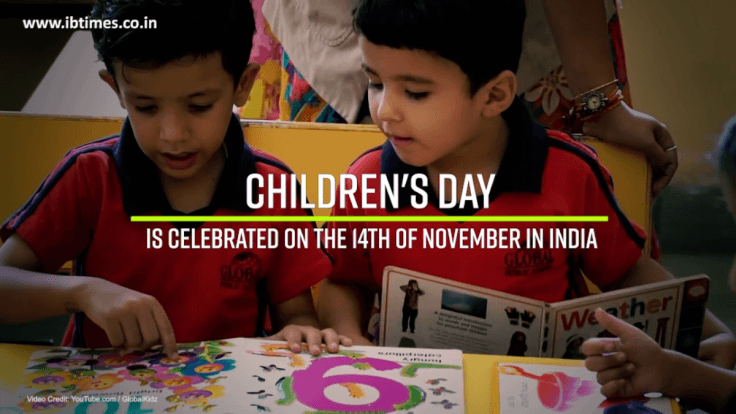 Why is Children's Day celebrated on November 14?