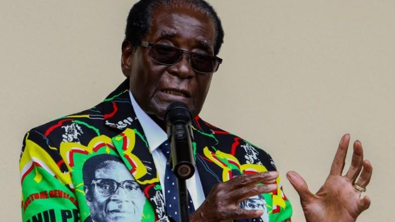 President Mugabe supporters rally following sacking of Vice President