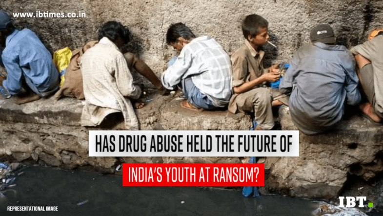 Drug addiction grips India's younger generation