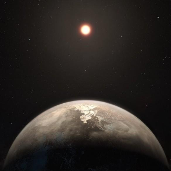 exoplanet, Ross 128b, space,