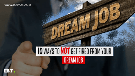 10 ways to not get fired from your dream job