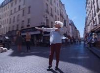 Old lady shows off her moves with professional dancers in viral video