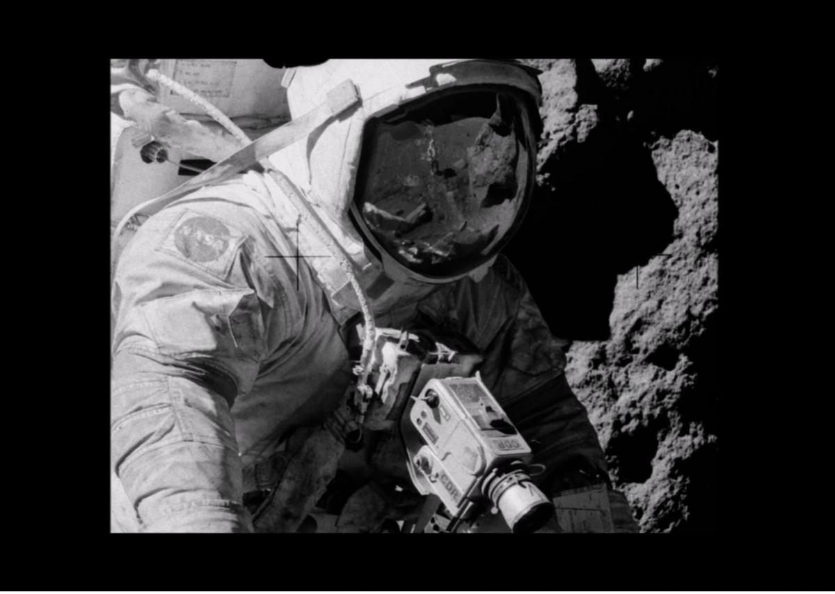 Conspiracy theorist claims Apollo moon landing was hoax ...