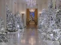 Melania Trump criticised over cold and creepy White House Christmas decorations