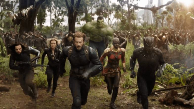 Infinity War Part 2 Shooting