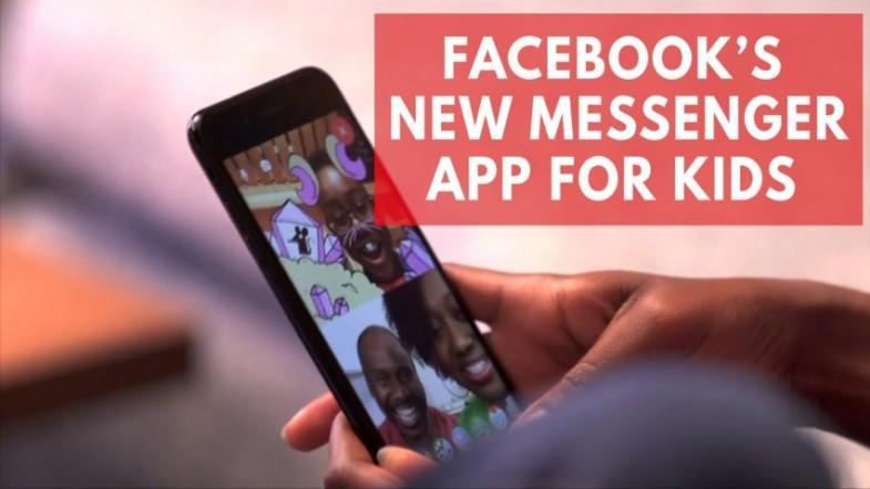 Facebook targets children under 13 years with new messenger app