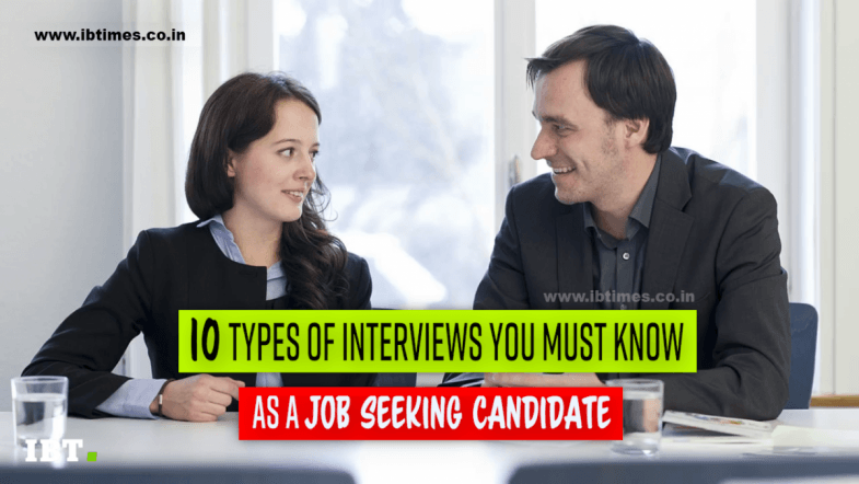 10 interview types you must know as a job candidate