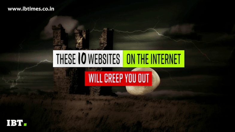 10 websites on the internet that will creep you out