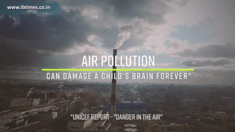 Air pollution can damage a child's brain forever: UNICEF