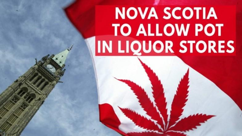 A Canadian province will soon sell marijuana in its liquor stores