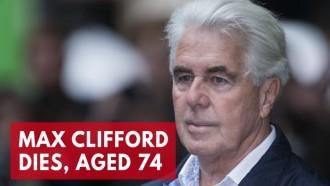 Former publicist Max Clifford dies, aged 74