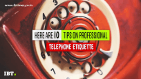 Important tips for professional telephone etiquette