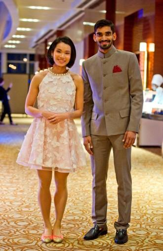 Kidambi Srikanth and Tai Tzu Ying