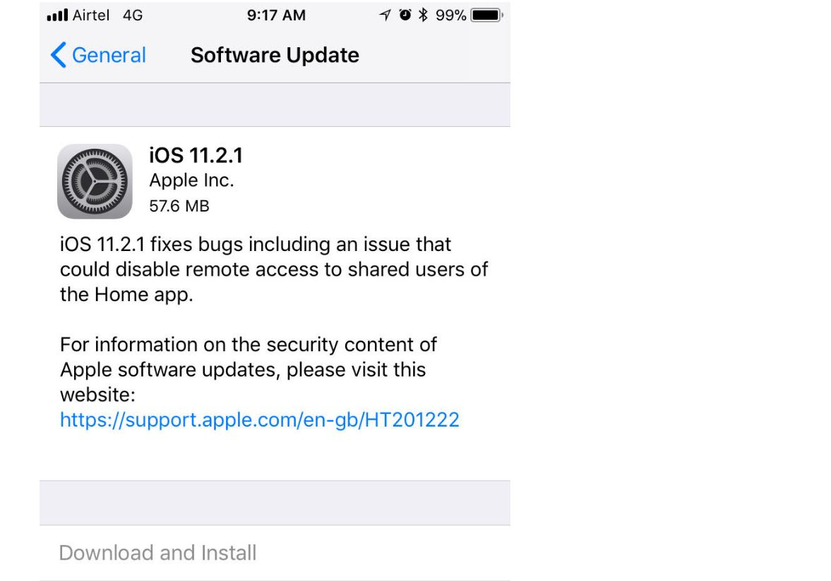 how to update to ios 11
