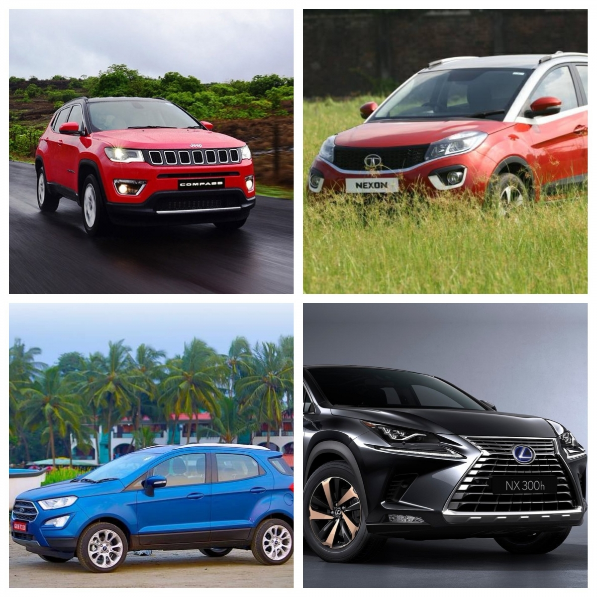 Best Of 2017: A Look At Tata Nexon, Jeep Compass, New Ford