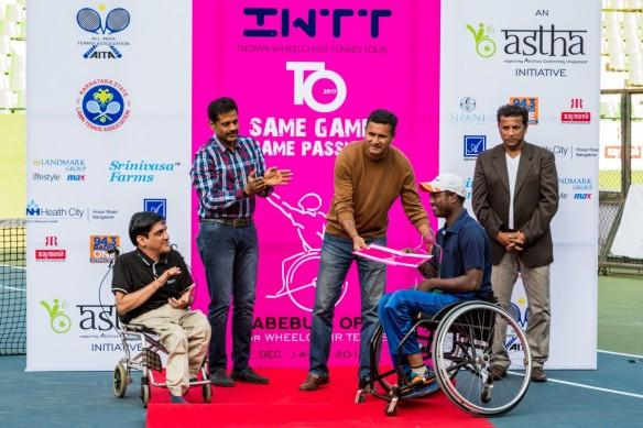Shekhar Veeraswamy Wheelchair Tennis