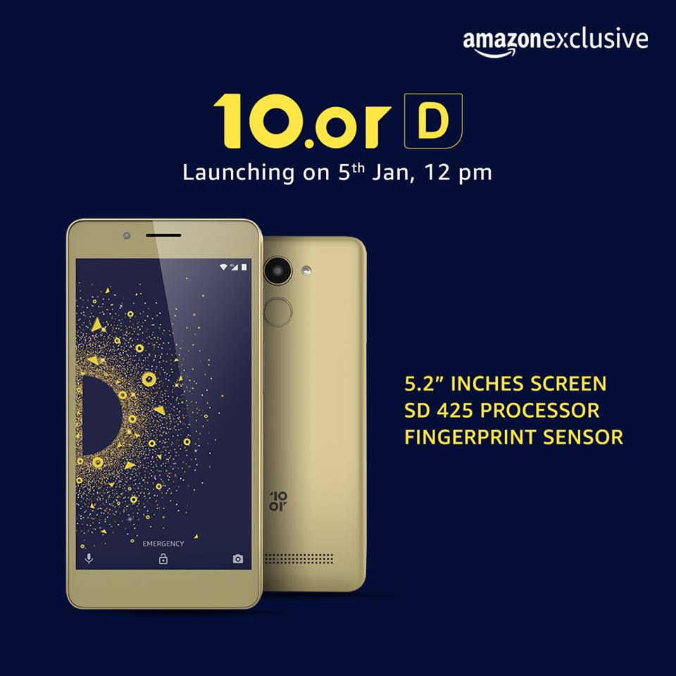 Amazon And Tenor Launch 10 Or D To Tackle Flipkart Xiaomi