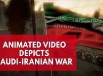 War between Iran and Saudi Arabia depicted in viral animated video