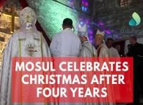 Christians in Mosul celebrate Christmas for the first time in four years