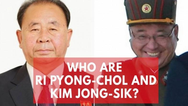 Who are Ri Pyong-chol and Kim Jong-sik? US sanctions Kim Jong-uns most trusted aides