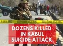 Dozens killed in attack on Afghan news agency and Shia centre in Kabul